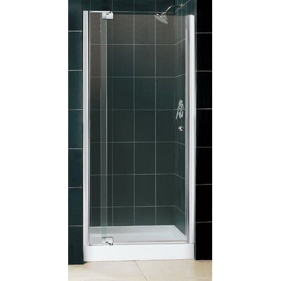 Dreamline Allure Pivot Shower Door with Center Drain and Trio Base Kit