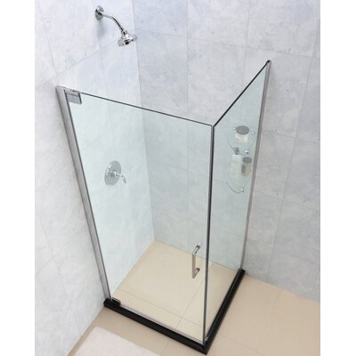 Glass Pivot Door Shower Enclosure Wayfair