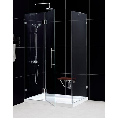 Dreamline QuatraLux Hinged Shower Enclosure