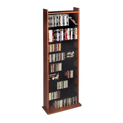 Leslie Dame Enterprises Deluxe Multimedia Storage Rack