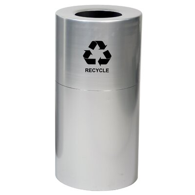 Witt Metal Recycling 35 Gallon Industrial Recycling Bin