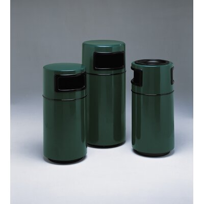 Witt Fiberglass Series 25 Gallon Side Entry Round Receptacle