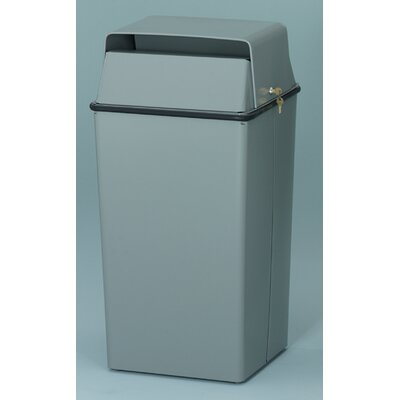Witt 36 Gallon Secure Document Receptacle with Hasp Assembly for Padlocking