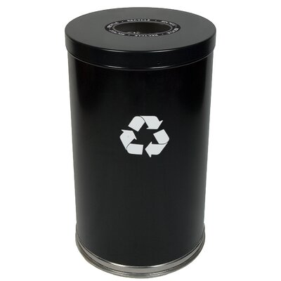 Witt Metal Recycling One Opening Industrial Recycling Bin