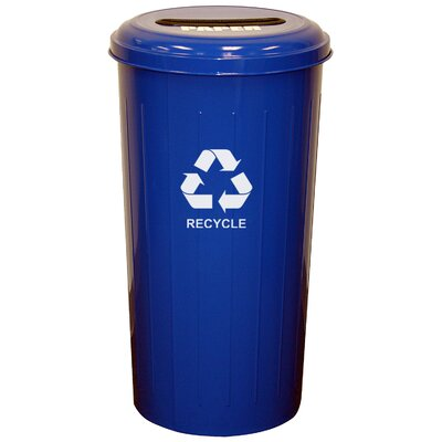 Witt Metal Recycling 20 Gallon Industrial Recycling Bin