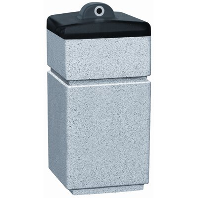 Witt Stadium Series PLC Square Ash Urn Hide-A Butt