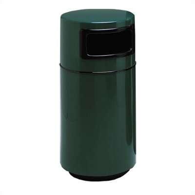 Witt Fiberglass Series 32 Gallon Side Entry Round Receptacle