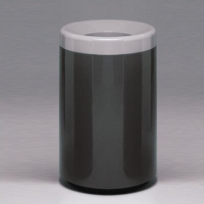 Witt Fiberglass Series 50 Gallon Top Entry Round Receptacle
