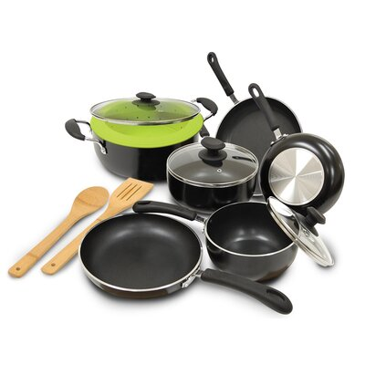 Heavy Weight 12 Piece Cookware Set