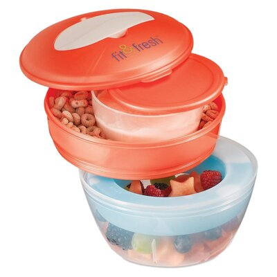 Medport 3-Piece Fit & Fresh On The Go Breakfast Set
