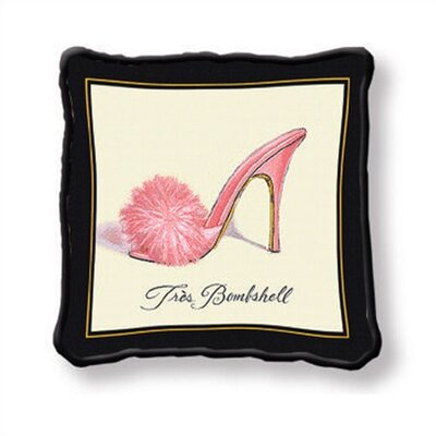 Fine Art Tapestries Tres Bombshell Pillow