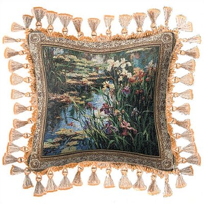 Fine Art Tapestries Summer Lily Pillow