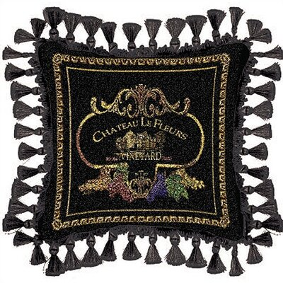 Fine Art Tapestries Chateau Pillow
