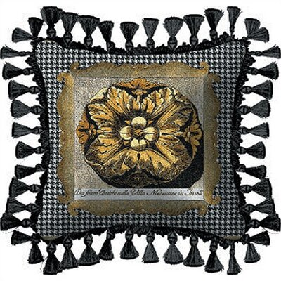 Fine Art Tapestries Medallion Pillow