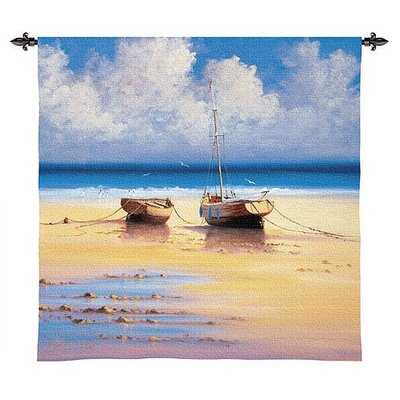Fine Art Tapestries Restful Moorings Tapestry  - David Short