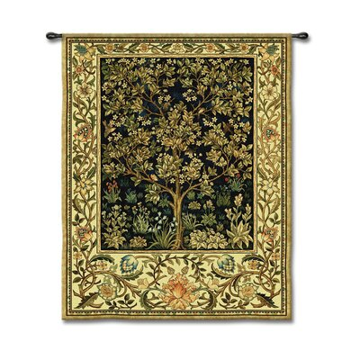 Fine Art Tapestries Tree of Life Midntblu - Morris, William