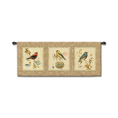 Fine Art Tapestries Songbirds - Barrett