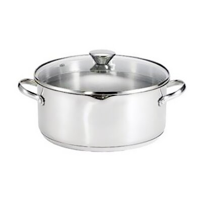 WearEver 5-Qt. Stainless Steel Round Dutch Oven