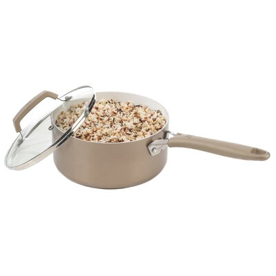 Pure Living 3-qt Sauce Pan with Lid