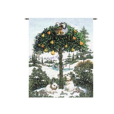 Pure Country Weavers Partridge in a Pear Tree Tapestry