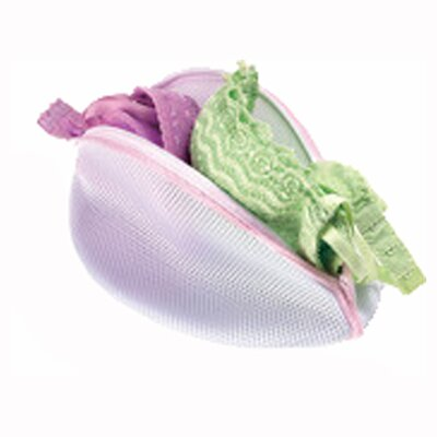 <strong>Whitmor, Inc</strong> Mesh Bra Washing Bag in White