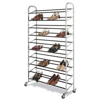 Whitmor, Inc 50 Pair Shoe Rack
