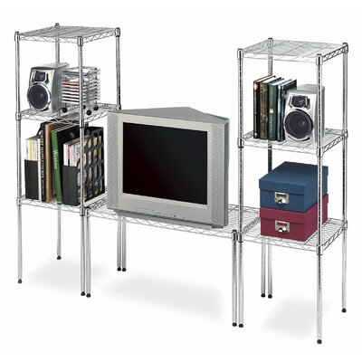 Whitmor, Inc Supreme Wide Stacking Shelf in Chrome