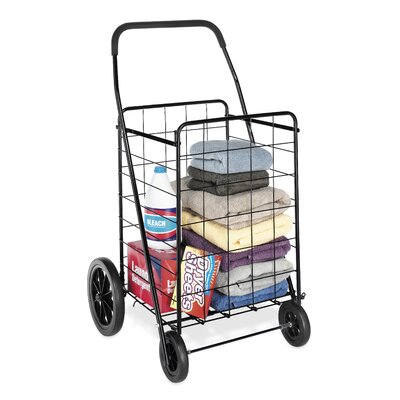 Whitmor, Inc Deluxe Utility Cart in Black
