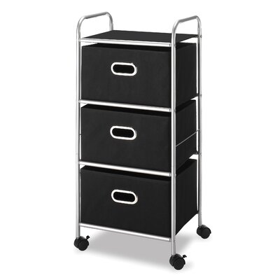 Whitmor, Inc Three Drawer Cart
