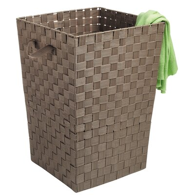 Java Woven Hamper with Handles