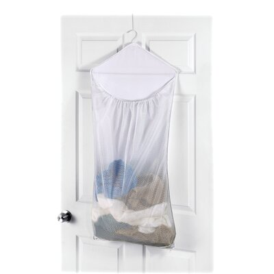 whitmor inc over the door mesh hanging laundry bag