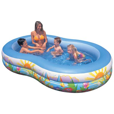 "18"" Deep Swim Center Paradise Pool"