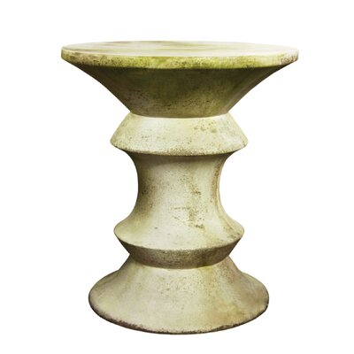 OrlandiStatuary Furniture Large Pawn Outdoor Side Table