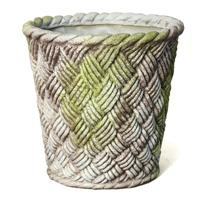 Large Nied Weave Basket Round Planter