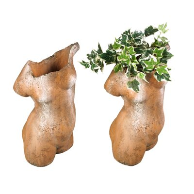 OrlandiStatuary Woman Torso Planter