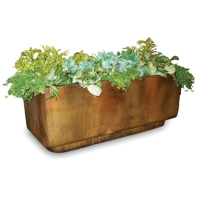 OrlandiStatuary Biagio Tub Rectangular Planter