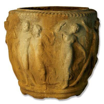 Grecian Round Pot Planter
