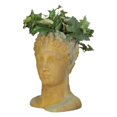 OrlandiStatuary Hermes Head Planter