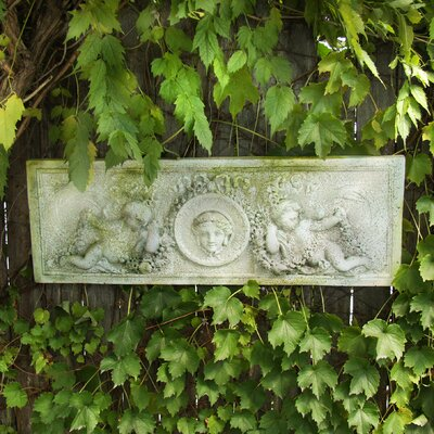 OrlandiStatuary Cherub Victorian Plaque Wall Decor | Wayfair