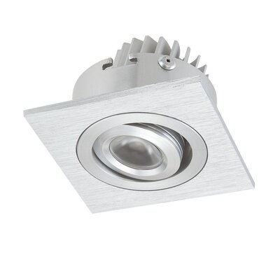 Alico Square 1 Recessed Square Directional Light with Driver