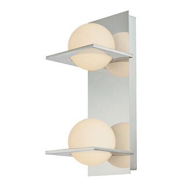 Alico Orbit 2 Light Vertical Bath Bar