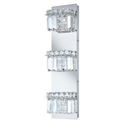 Alico Crown 3 Light Vertical Bath Vanity Light