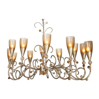 Van Teal Giardino Afternoon Delight 12 Light Chandelier