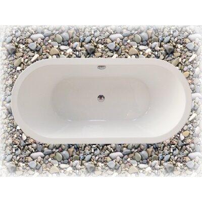 "Aquatica PureScape 74"" x 30"" Freestanding Acrylic Bathtub"