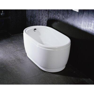 "Aquatica PureScape 47"" x 30"" Freestanding Acrylic Bathtub"