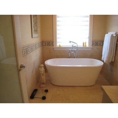 "Aquatica PureScape 59"" x 28"" Freestanding Acrylic Bathtub"