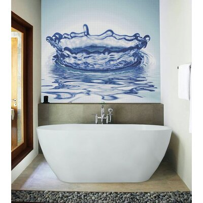 "Aquatica PureScape 71"" x 32"" Bathtub"