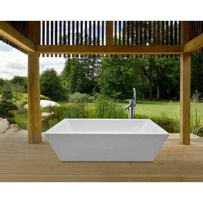 "Aquatica PureScape 71"" x 34""  Bathtub"