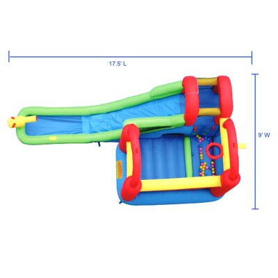 Bounceland Water Slide with Playstation Bounce House