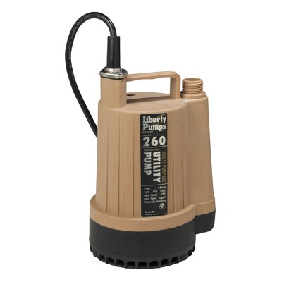 23 GPM Submersible Utility Pump